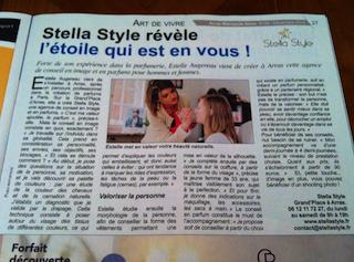 Article Stella Style Métropole News Arras Décembre 2015